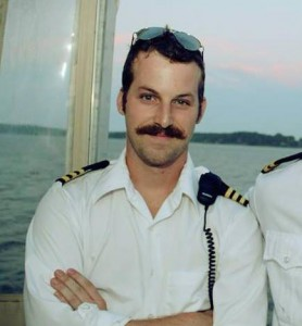 Cory and his mustache